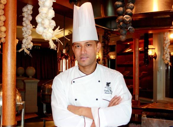 Chef Debrup Mitra, JW Marriott Hotel Dubai (2) (Large)